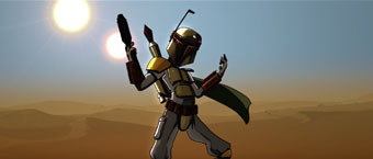 Boba Fett Trailer by DailyToon