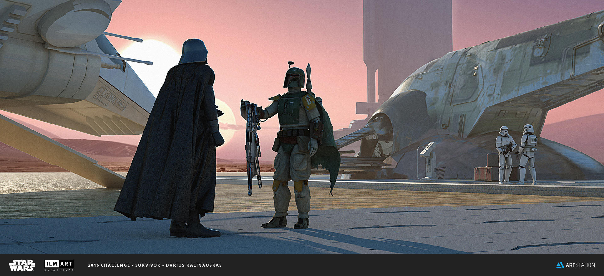 2016 ILM Art Department Challenge Entry by Darius Kalinauskas