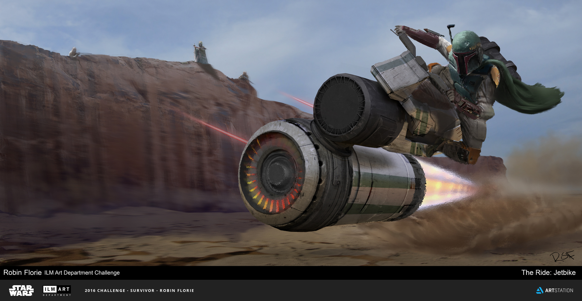 2016 ILM Art Department Challenge Entry by Robin Florie