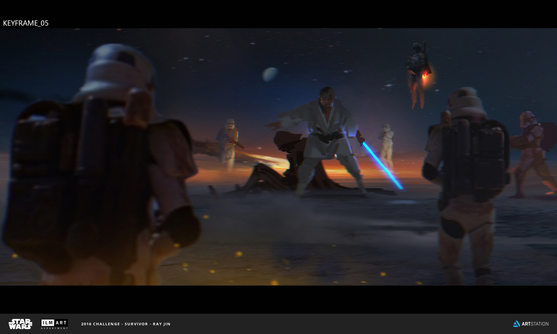 2016 ILM Art Department Challenge Entry by Ray Jin