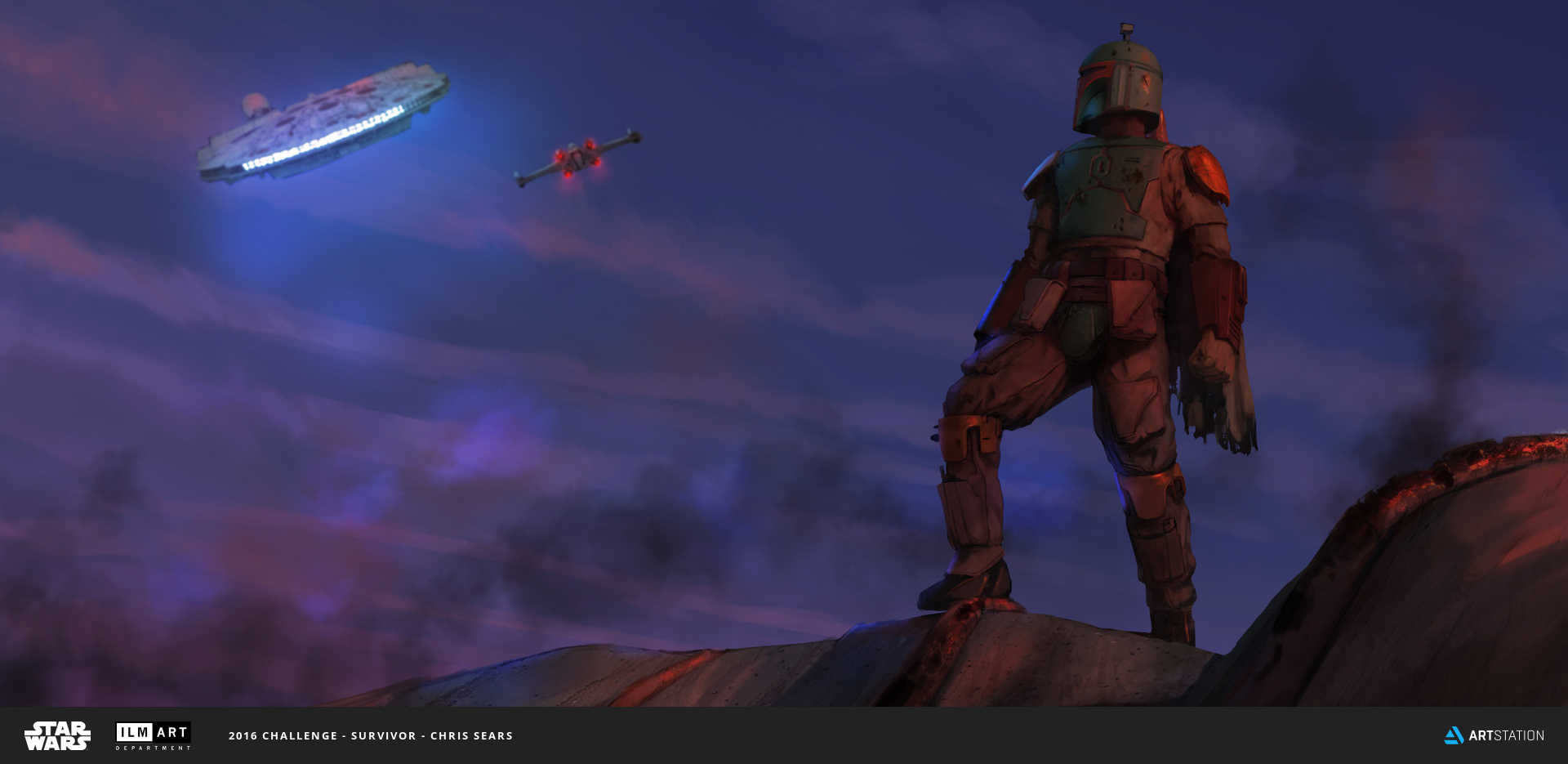 2016 ILM Art Department Challenge Entry by Chris Sears