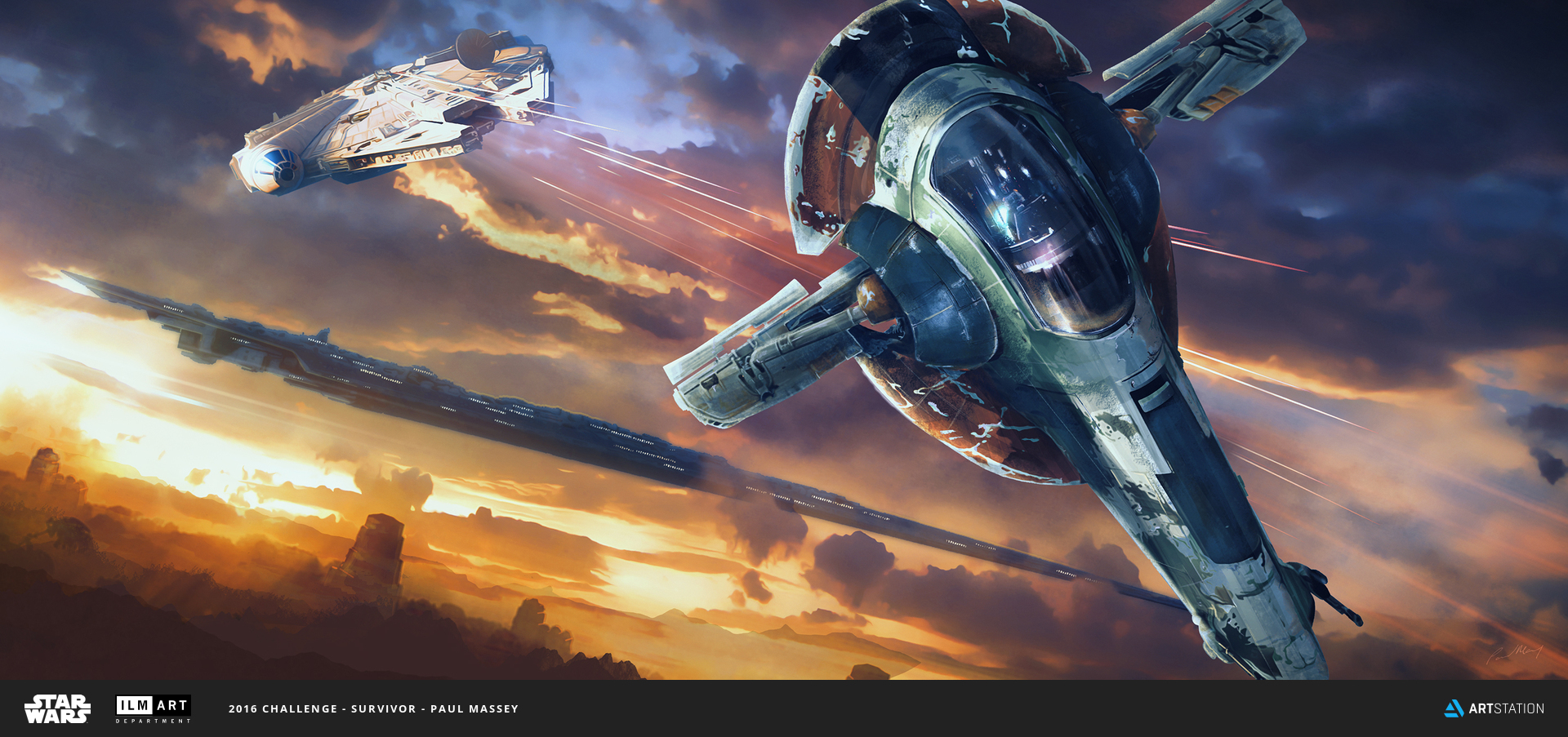 2016 ILM Art Department Challenge Entry by Paul Massey