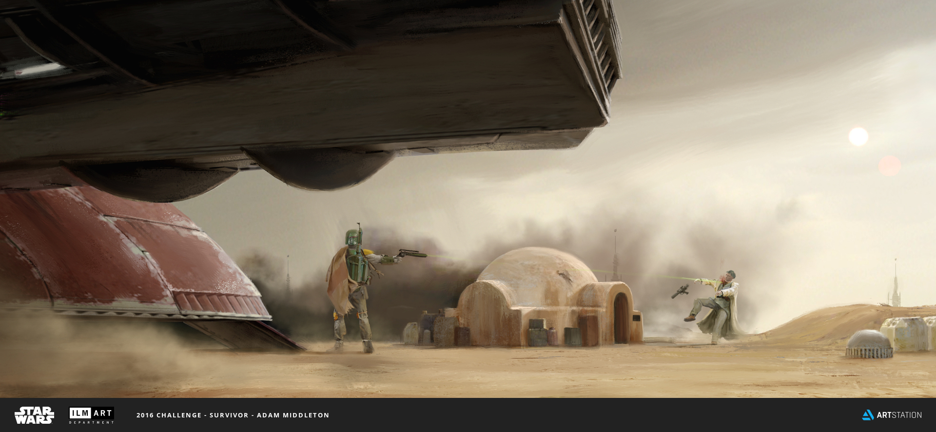 2016 ILM Art Department Challenge Entry Adam Middleton