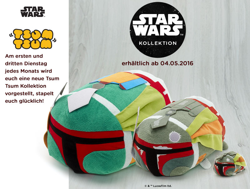 Promo for Star Wars Day Boba Fett Tsum Tsum Releases (2016) (German Variant)