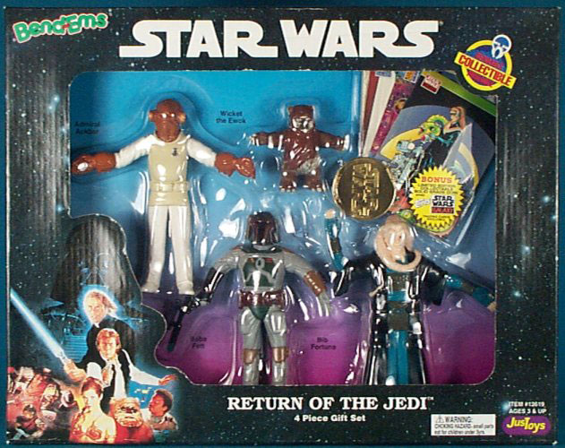 Bend-Ems Return of the Jedi Set