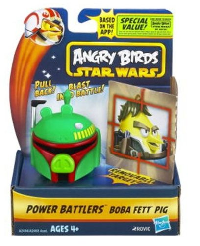 Angry Birds Star Wars Power Battlers Boba Fett Pig Battler (2013)