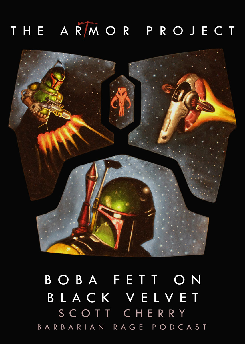 ArTmor 2014: Boba Fett on Black Velvet