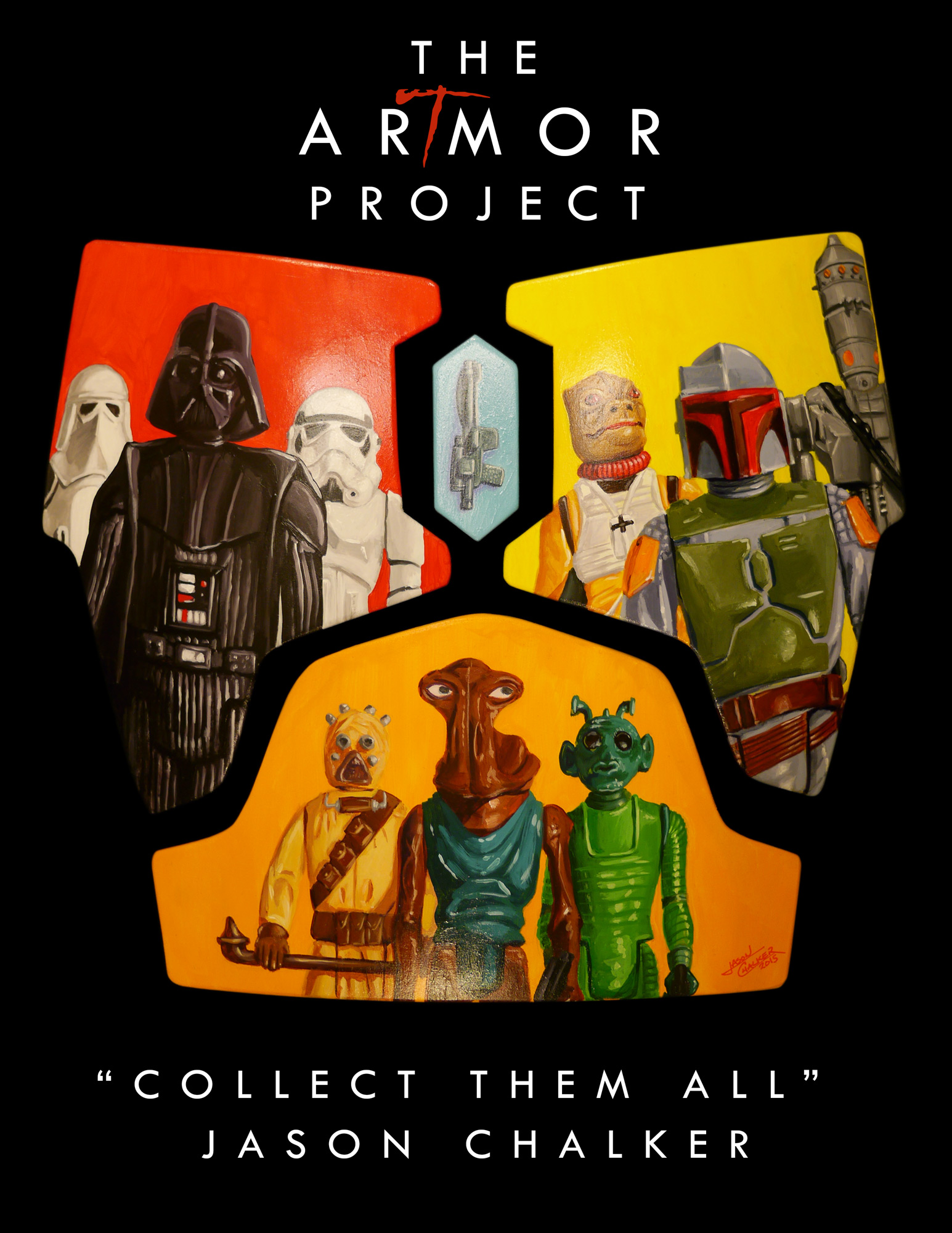 ArTmor 2015: Collect Them All