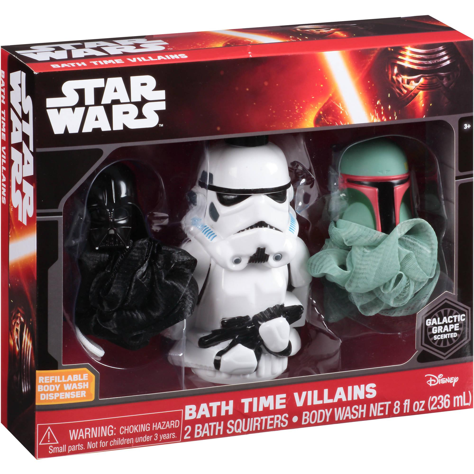 Star Wars Bath Time Villains (2015)