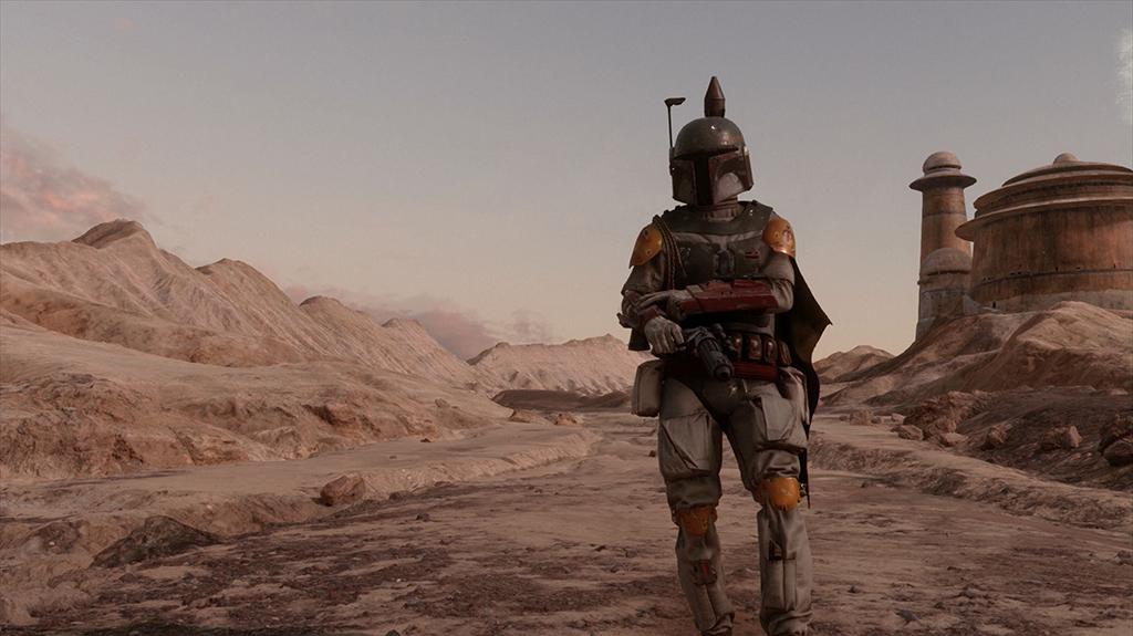Star Wars Battlefront, Boba Fett Gameplay