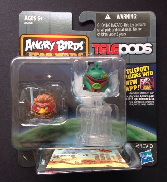 Angry Birds Boba Fett and Anakin Skywalker Telepod 2-Pack