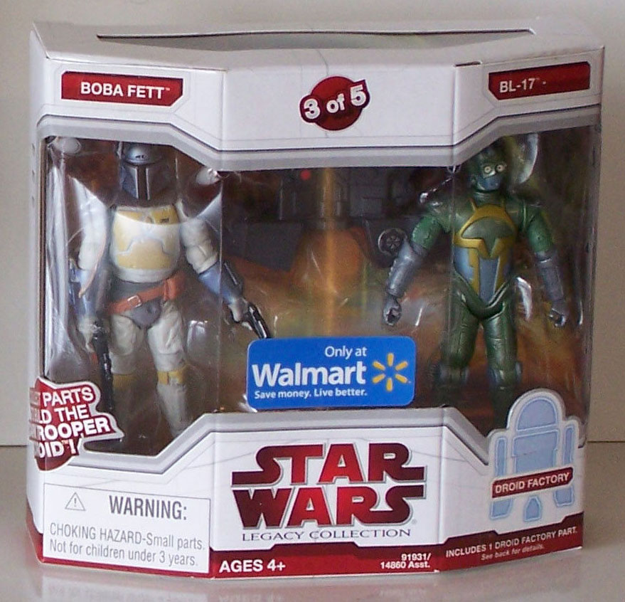 Legacy Collection Boba Fett and BL-17 (Walmart Exclusive) (2009)