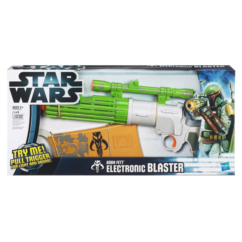 Boba Fett Electronic Blaster, Boxed
