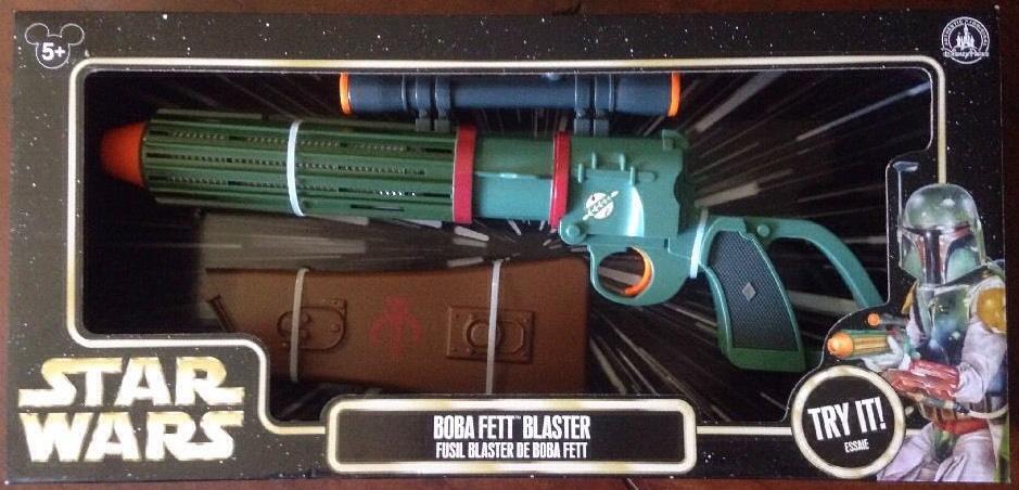 Boba Fett Electronic Blaster (Re-Paint)