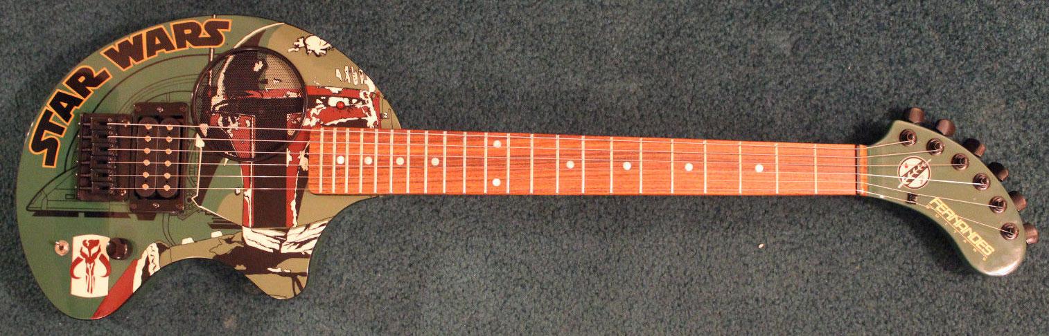 Fernandes Nomad Boba Fett Guitar (2001)