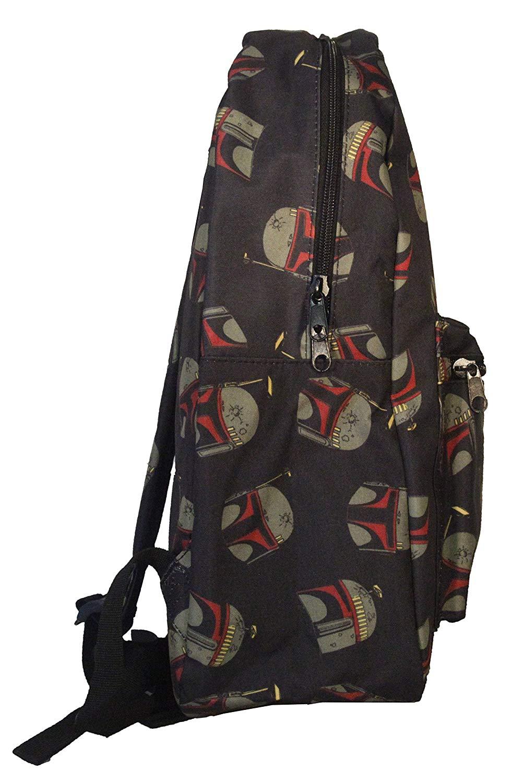 Boba Fett Helmet Print Backpack - Boba Fett Fan Club c214a10a6e5d9