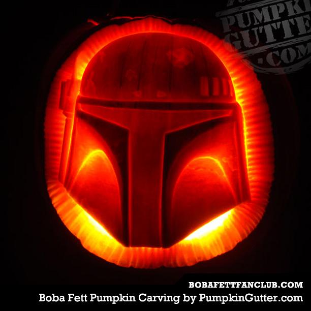 Boba Fett Pumpkin Carving by PumpkinGutter.com