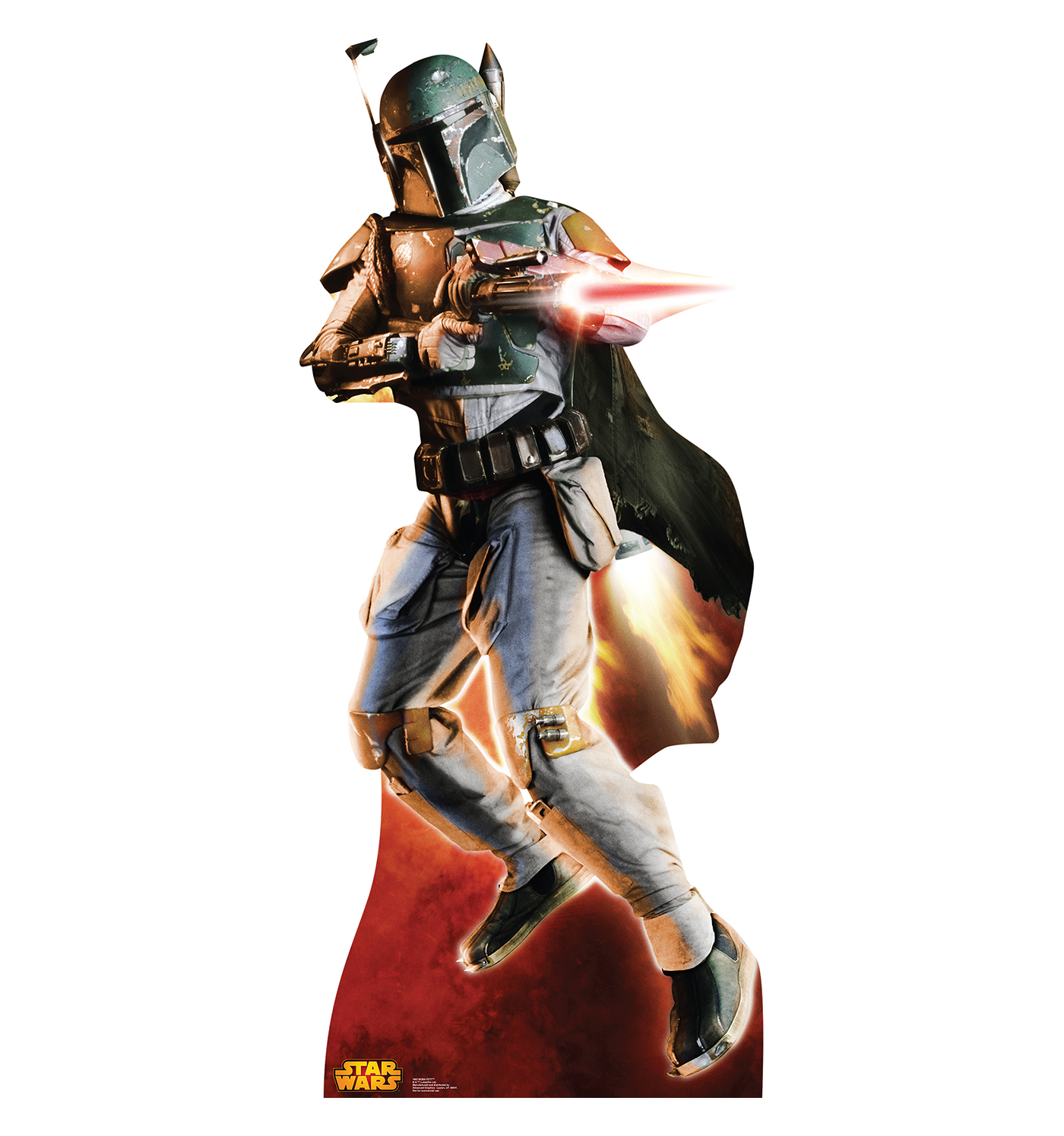 Boba Fett Cardboard Stand-up (Retouched) (2014)