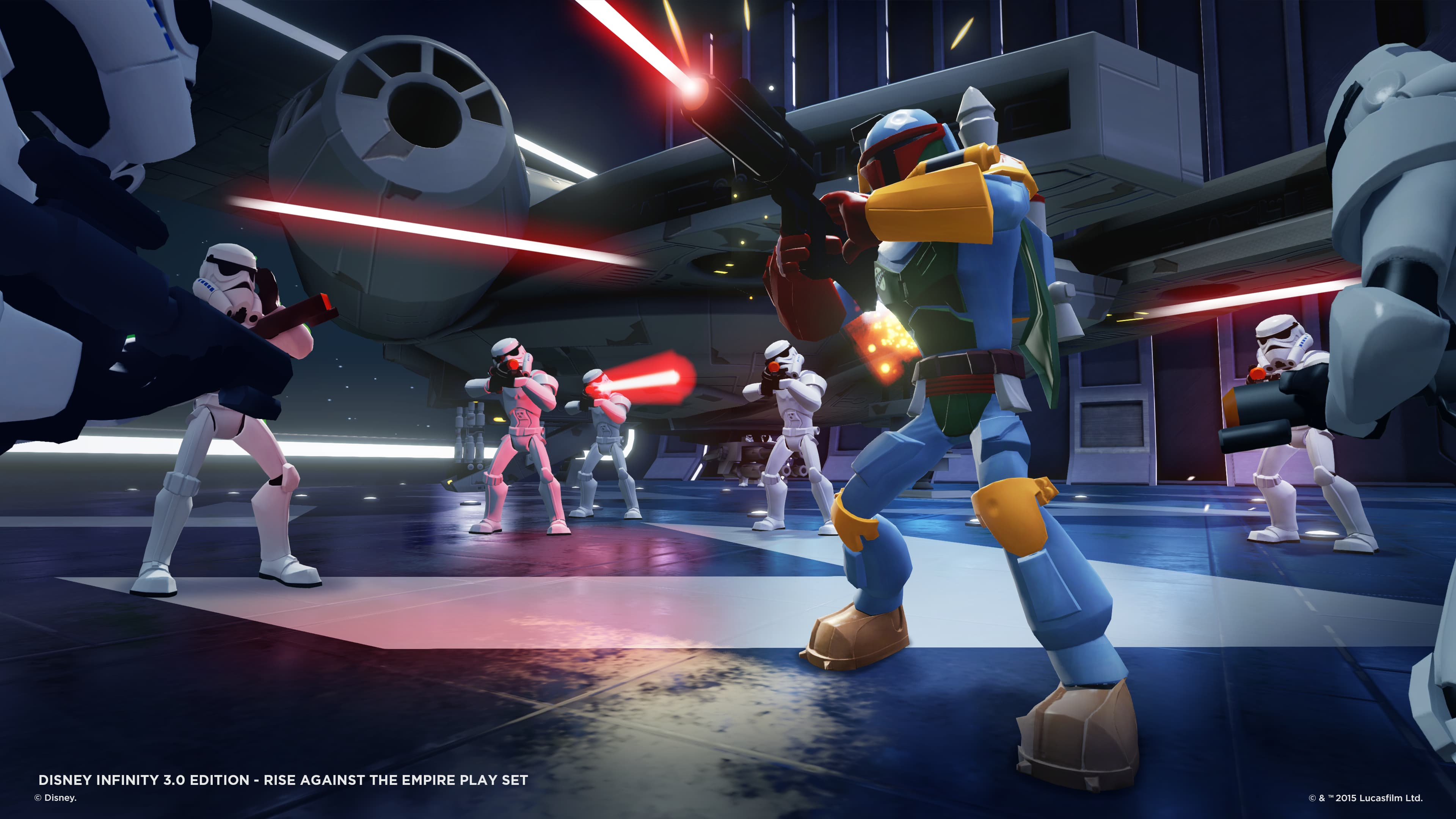 Disney Infinity 3.0, Boba Fett Gameplay