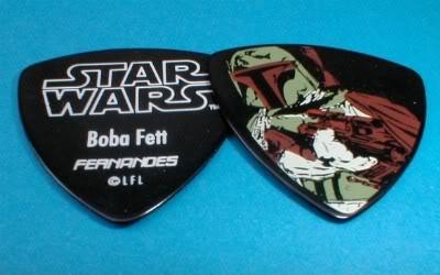 Boba Fett Guitar Pick, Regular