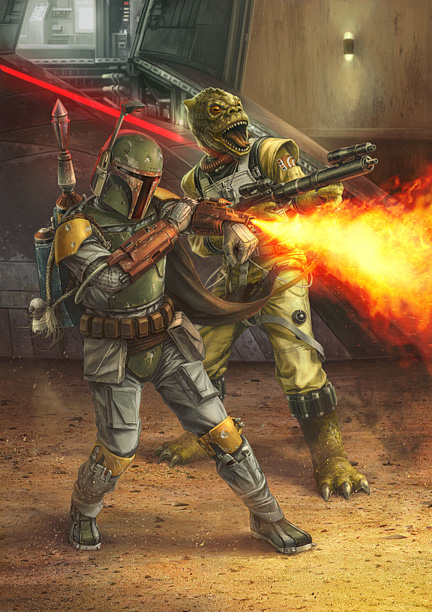 Bossk Fettpedia Boba Fett Fan Club