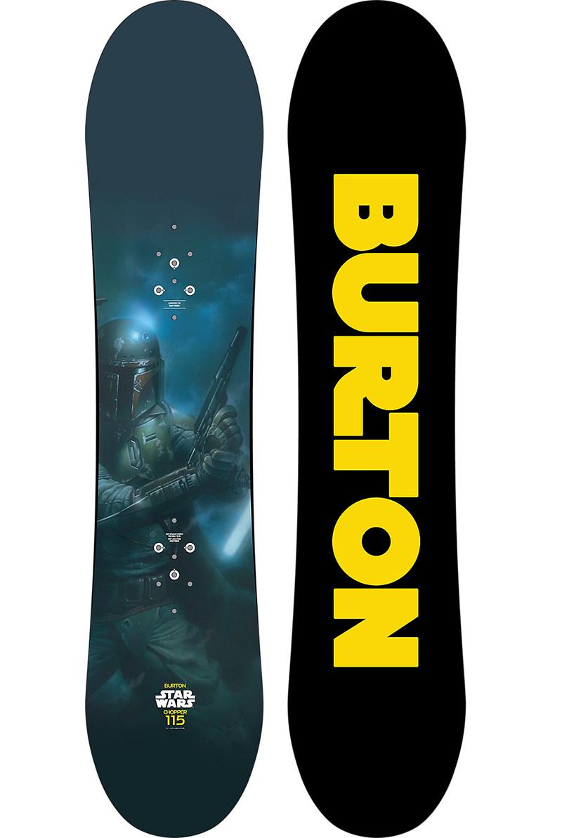 Burton Chopper 115 Boba Fett Snowboard (2014)