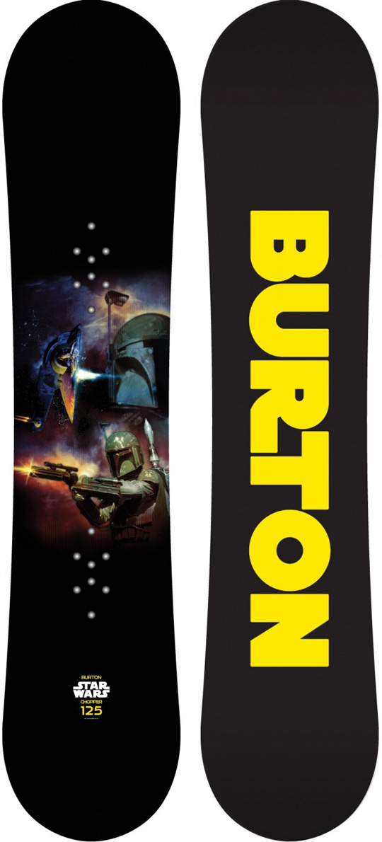 Boba Fett / Slave I Snowboard by Burton (2012)