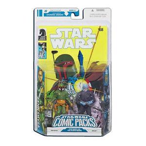 Star Wars Comic Packs #6 Fenn Shysa and Dengar (Featuring Star Wars #68) (2008)