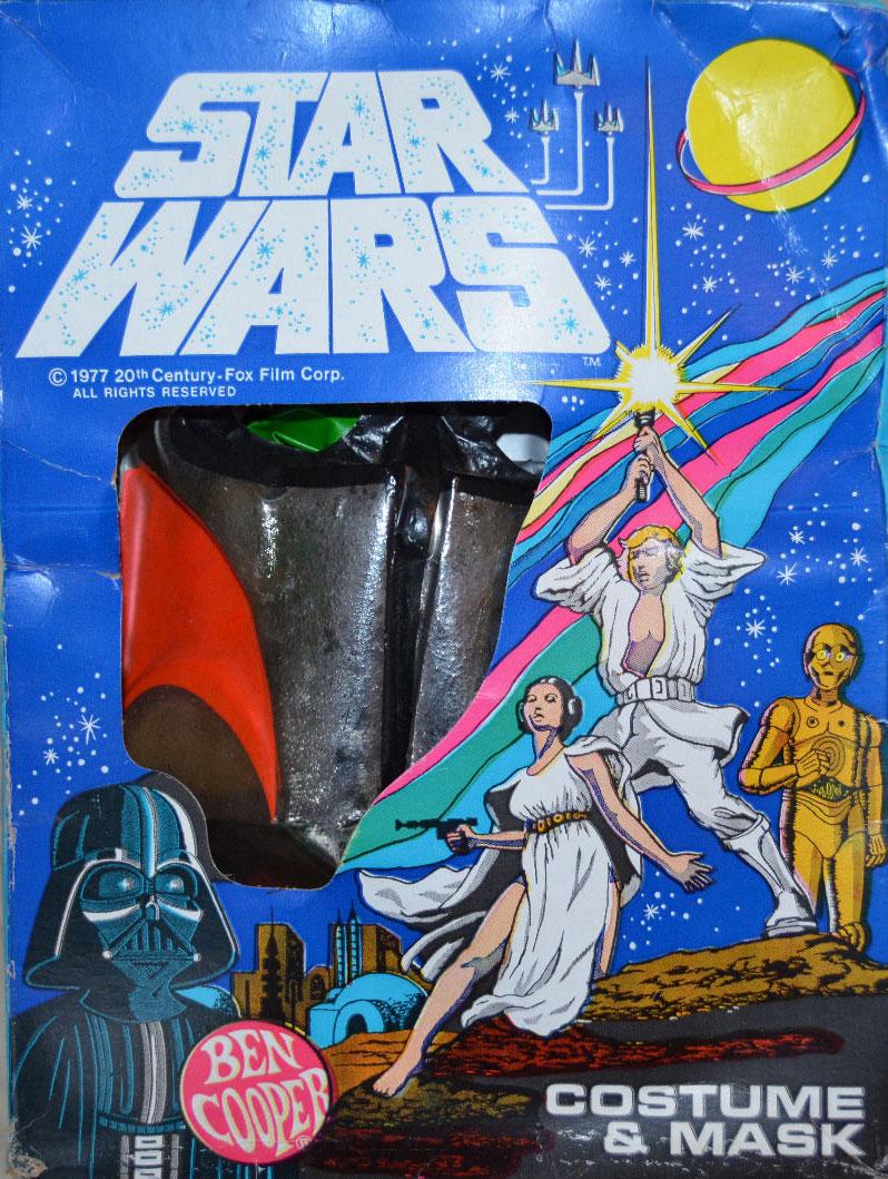 "Ben Cooper ""Star Wars"" Boba Fett Costume and Mask (1977)"