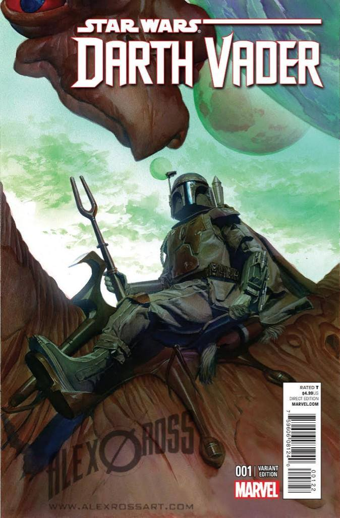 Darth Vader #1 (Alex Ross Exclusive) (2015)