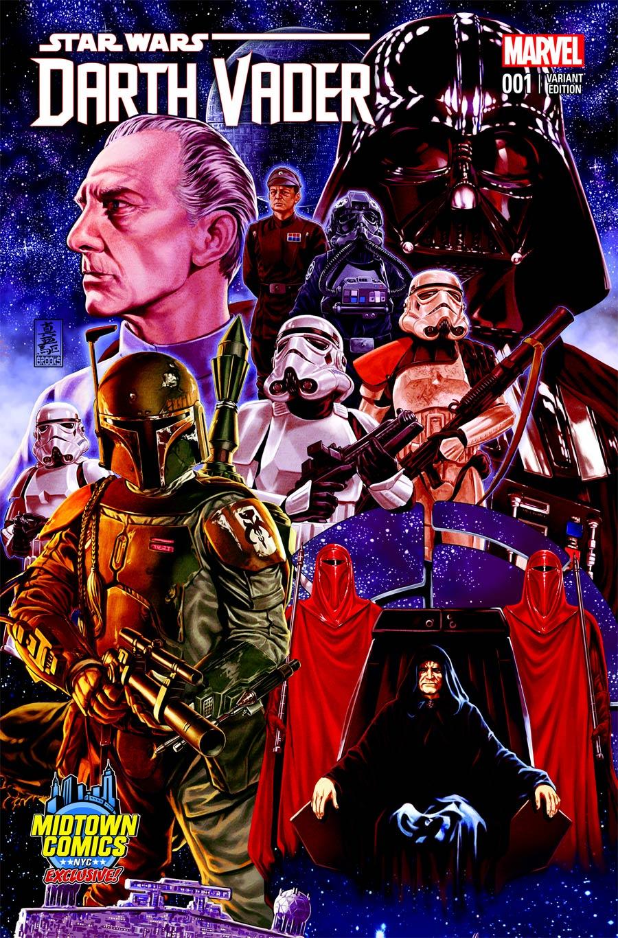 Darth Vader #1 (Midtown Comics Exclusive) (2015)