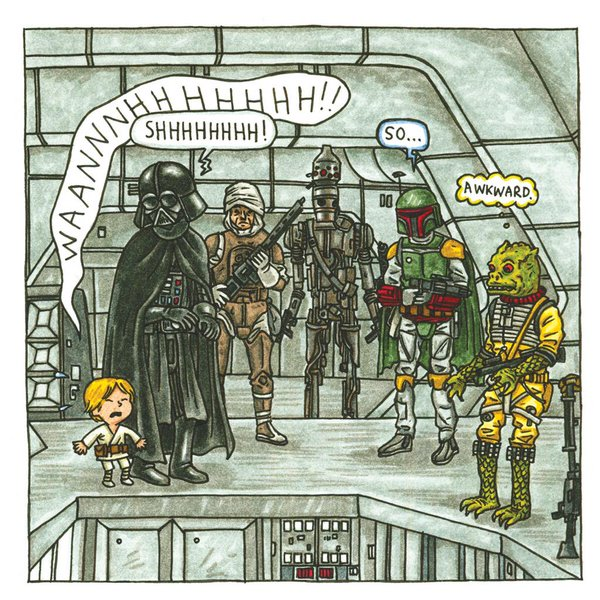 """Darth Vader and Son,"" ""So Awkward"""
