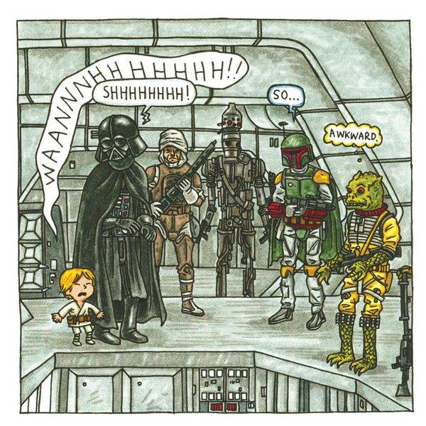 """""""Darth Vader and Son,"""" """"So Awkward"""""""