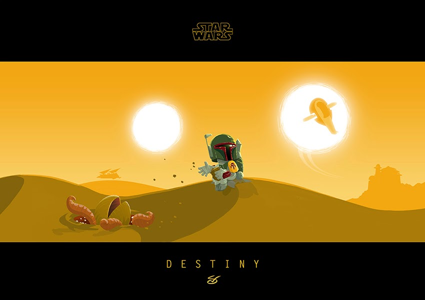 """Destiny (Boba Fett)"" by Nick Scurfield"