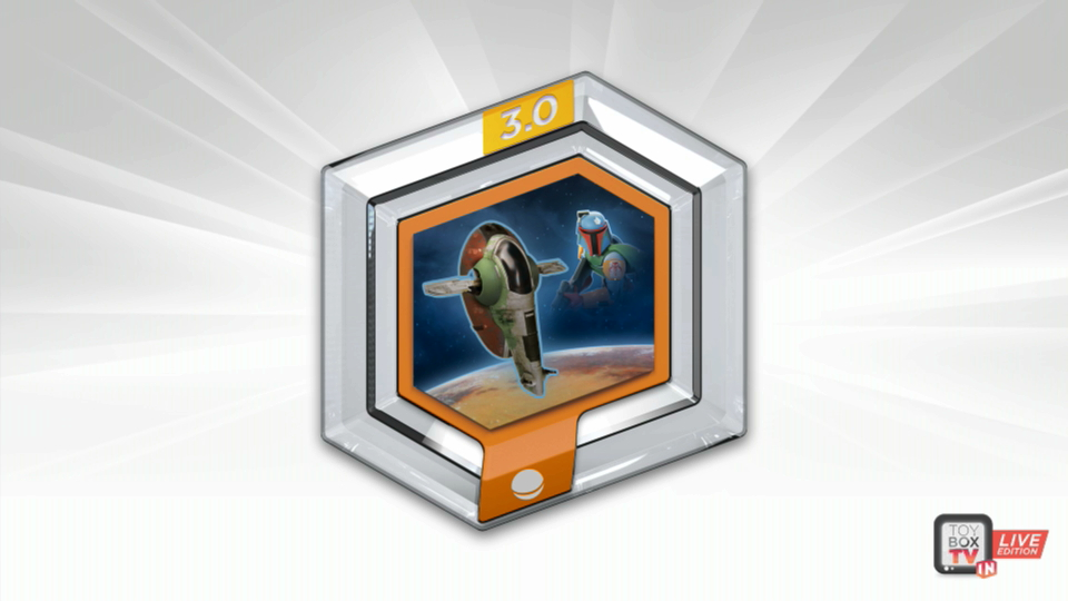 Boba Fett's Slave I announced in Disney Infinity 3.0 Star Wars