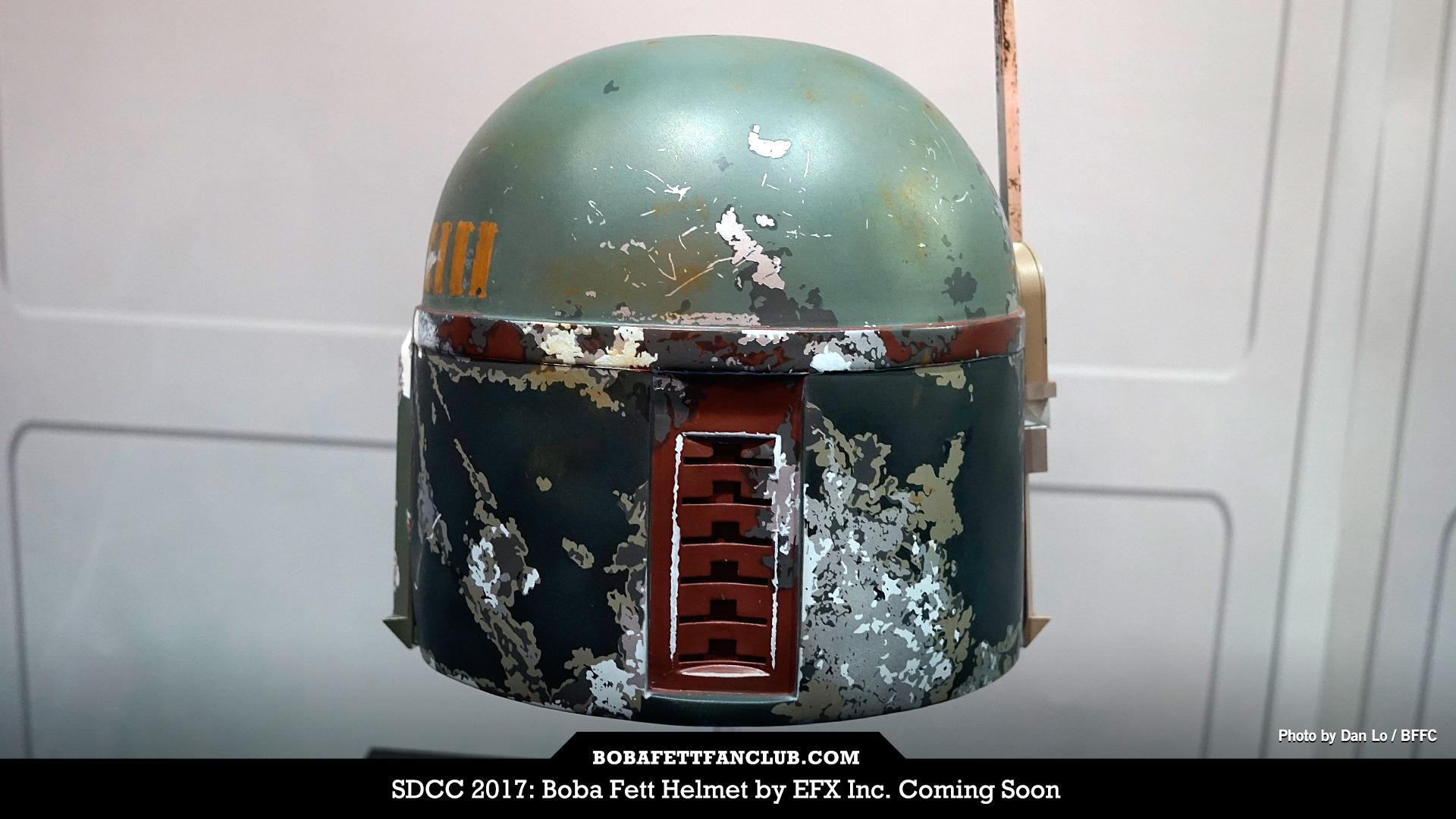 EFX Boba Fett Replica Helmet