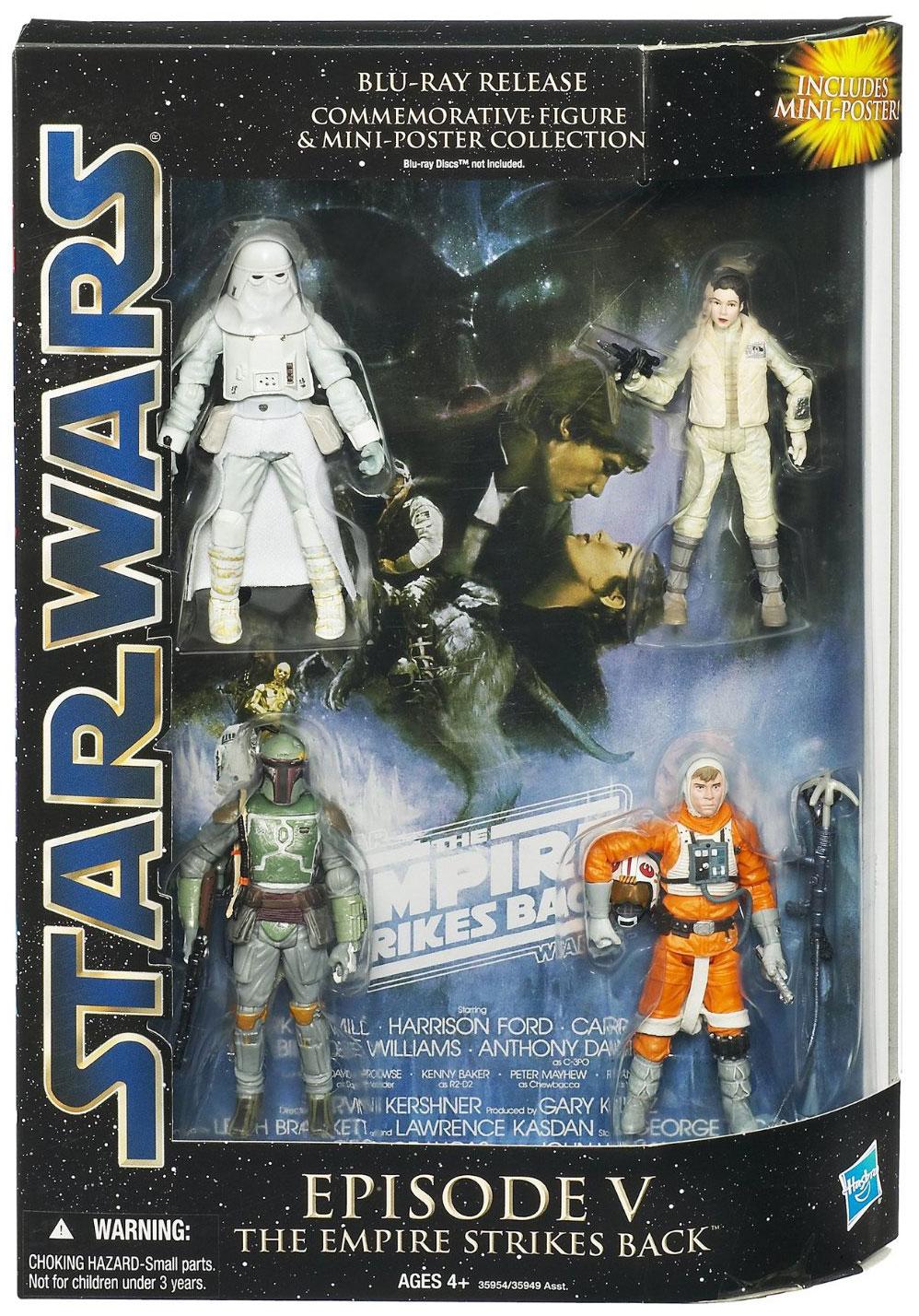 Episode V: The Empire Strikes Back Blu-ray Release Commemorative Figure and Mini-Poster Collection (2011)