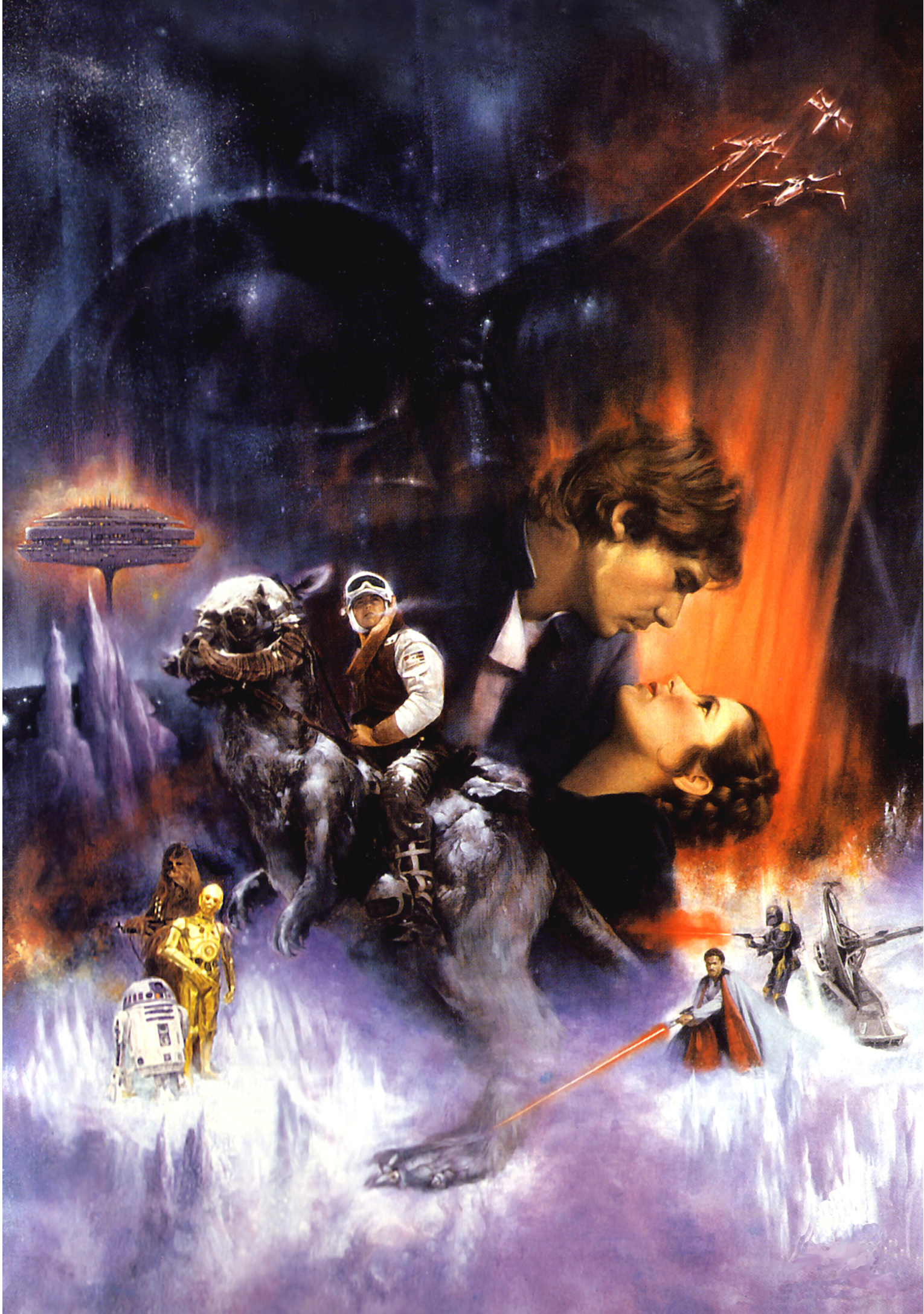 """""""The Empire Strikes Back"""" Poster by Roger Kastel"""
