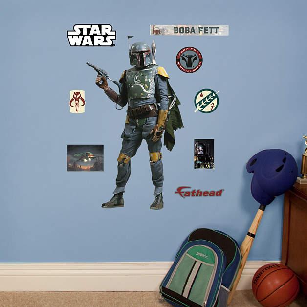 Boba Fett Fathead Jr. Wall Graphic (Updated)