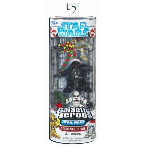 Galactic Heroes Stocking Stuffers: Boba Fett, Darth Vader, and Stormtooper (2008)
