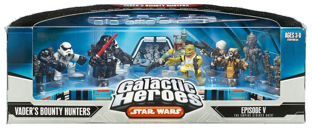 Galactic Heroes Vader's Bounty Hunters (2006)