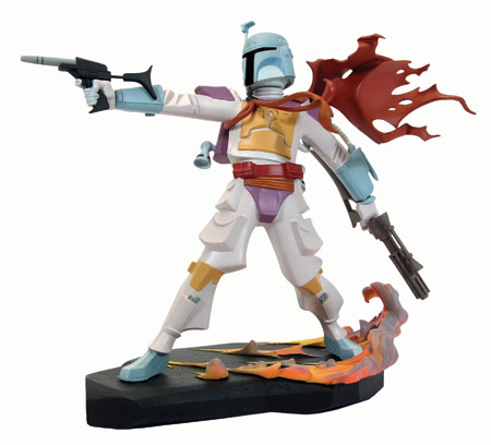 Gentle Giant Animated Boba Fett, Holiday Special Variant (2007)