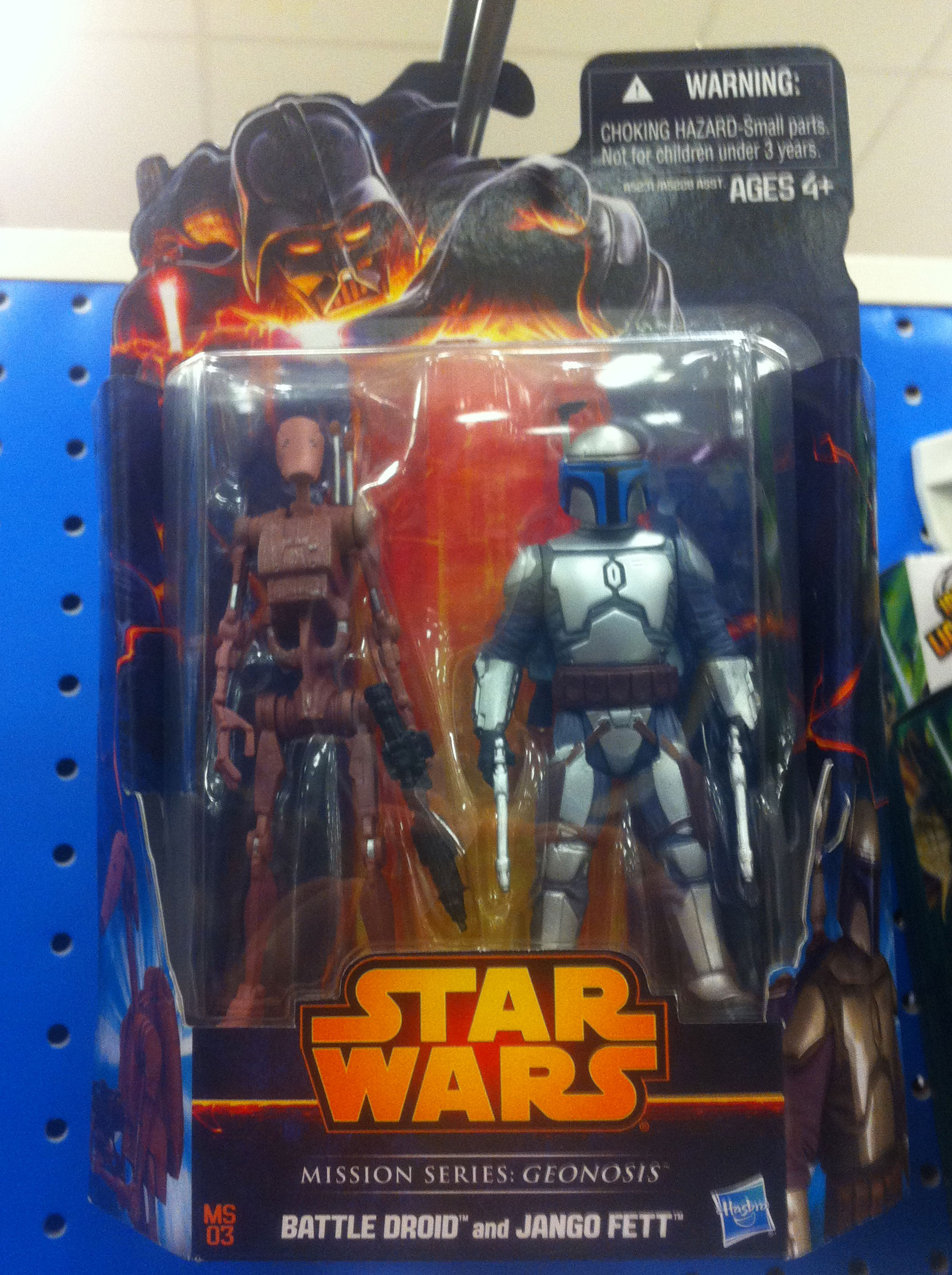 Mission Series: Geonosis Battle Droid and Jango Fett (2013)