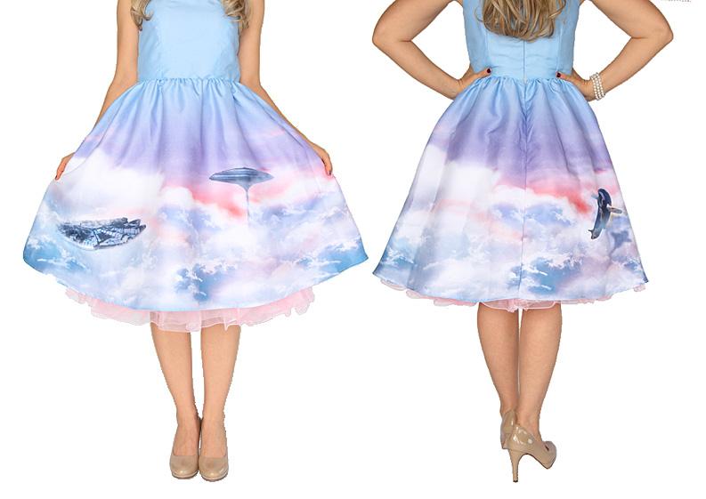 Her Universe Cloud City Pin-Up Dress (2015)