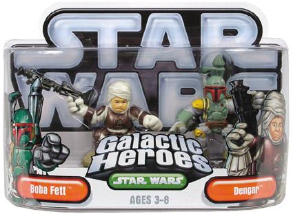 Galactic Heroes - Boba Fett and Dengar