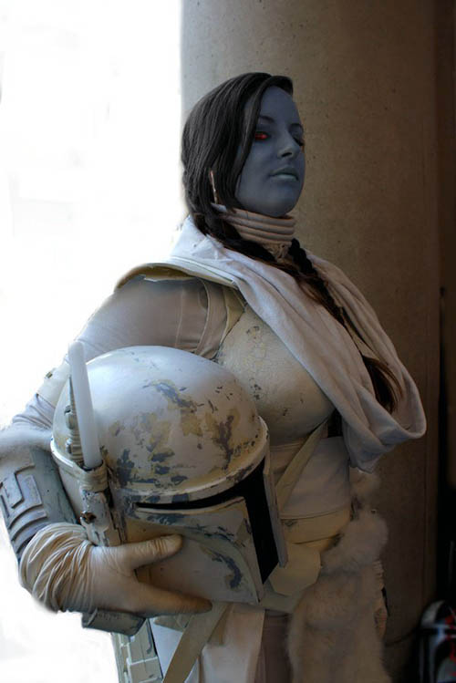 Umi (Snow Mandalorian) by Hydra (Fan Spotlight 11/3/2014)