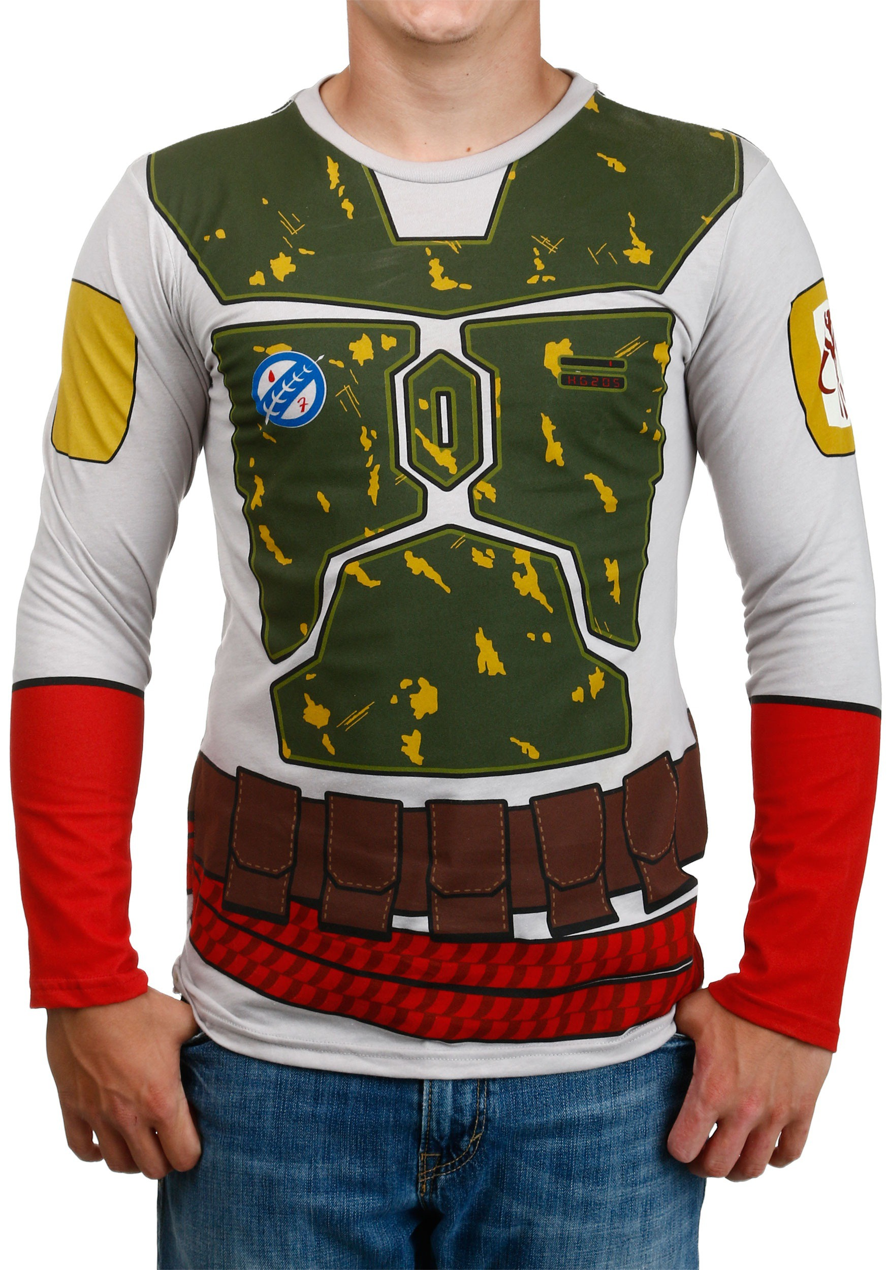"""I Am Boba Fett"" Long Sleeve T-Shirt (2015)"