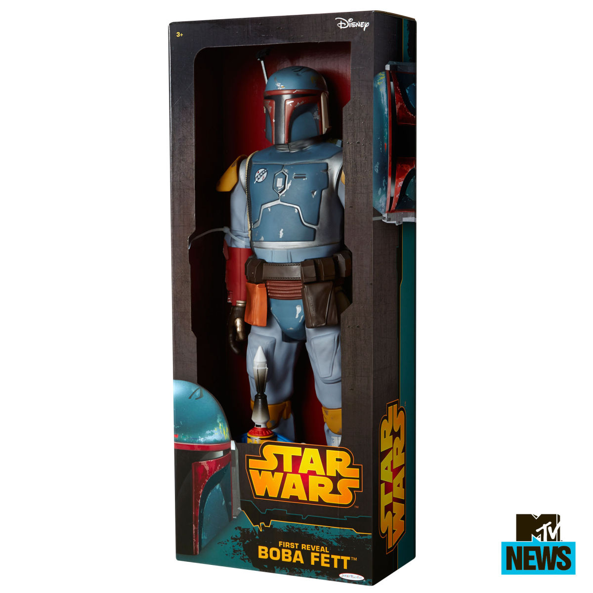 Jakks Pacific First Appearance Boba Fett (SDCC Exclusive), Boxed (2015)