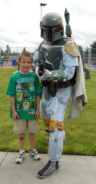 James Holliday as Boba Fett (Fan Spotlight 10/17/2014)