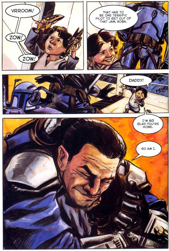 Jango Fett Graphic Novel